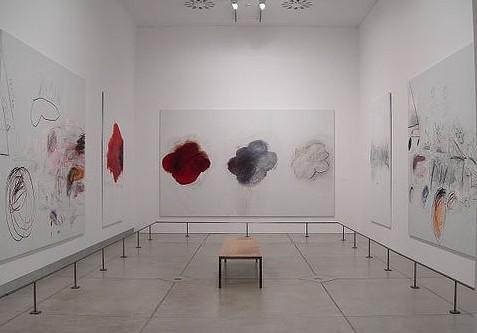 抽象主义绘画大师作品-美抽象表现主义大塞 托姆布雷在罗马逝世